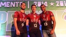 Batagim, Alemão e Manius representaram a Federal em São Paulo