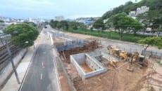 Trecho que estava interditado sob o Viaduto Augusto Franco será liberado