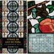 Exemplares do calendário podem ser pedidos gratuitamente na sede da Funalfa