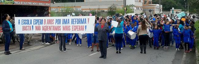 Na semana passada, manifestação pediu a liberação da verba (Foto: Aline Junqueira/17-06-15)