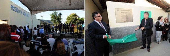 Unidade prisional foi inaugurada nesta segunda-feira (Foto: Osvaldo Afonso/Imprensa MG)