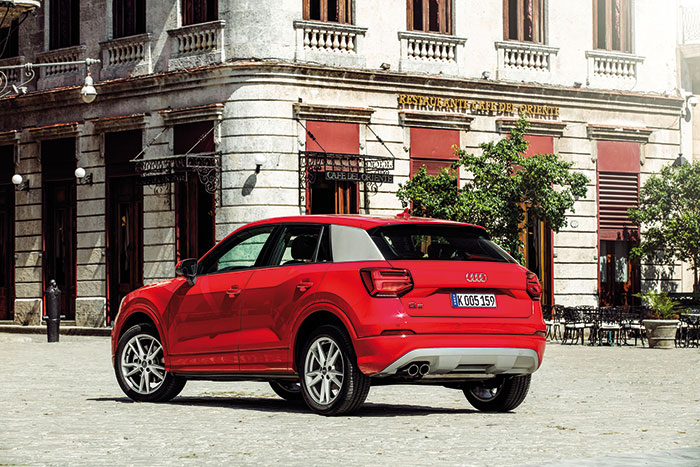 Audi investe no luxo e na esportividade do Q2, o menos utilitário da marca (Foto: Divulgação)