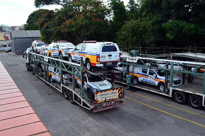 Novos veículos chegaram nesta quarta-feira (15) (Foto: Olavo Prazeres)