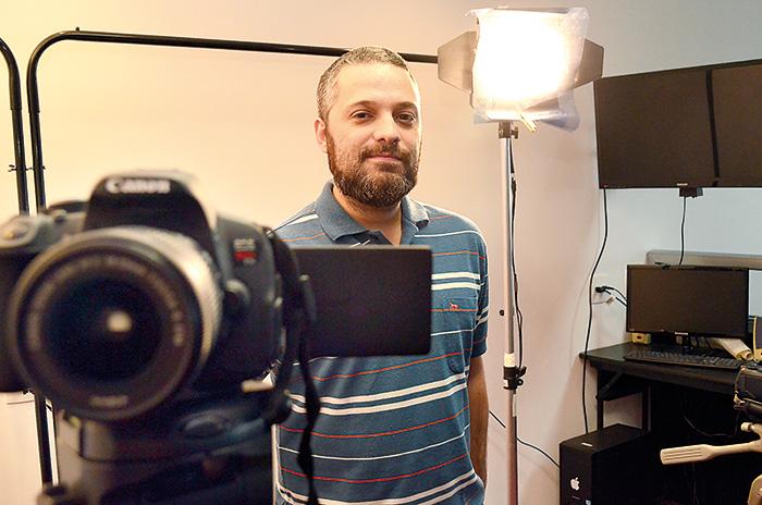 Rodrigo Brandão foi o único cineasta mineiro convidado a participar do projeto que reúne diretores de várias partes do Brasil (Foto: Olavo Prazeres)